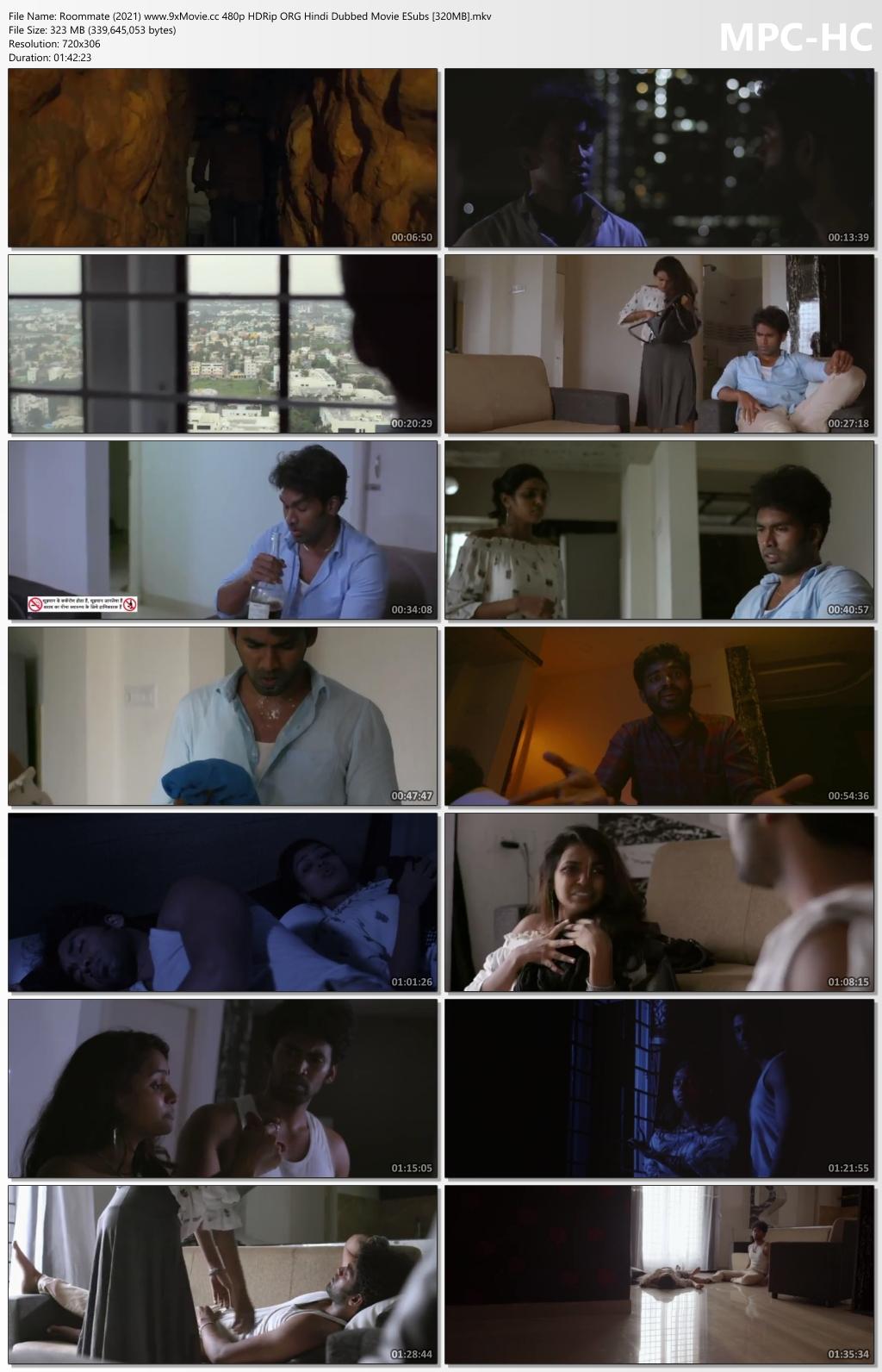 Roommate-2021-www-9x-Movie-cc-480p-HDRip-ORG-Hindi-Dubbed-Movie-ESubs-320-MB-mkv