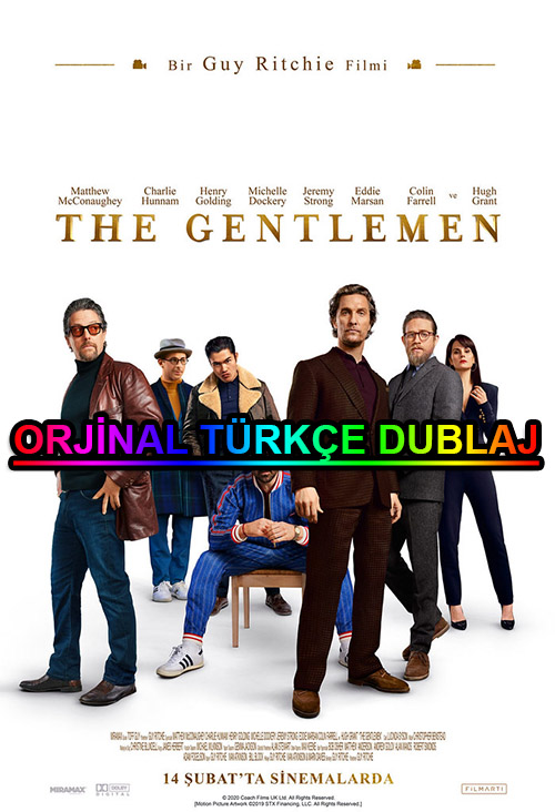 The Gentlemen | 2020 | BDRip | XviD | Türkçe Dublaj | m720p - m1080p | BluRay | Dual | TR-EN | Tek Link