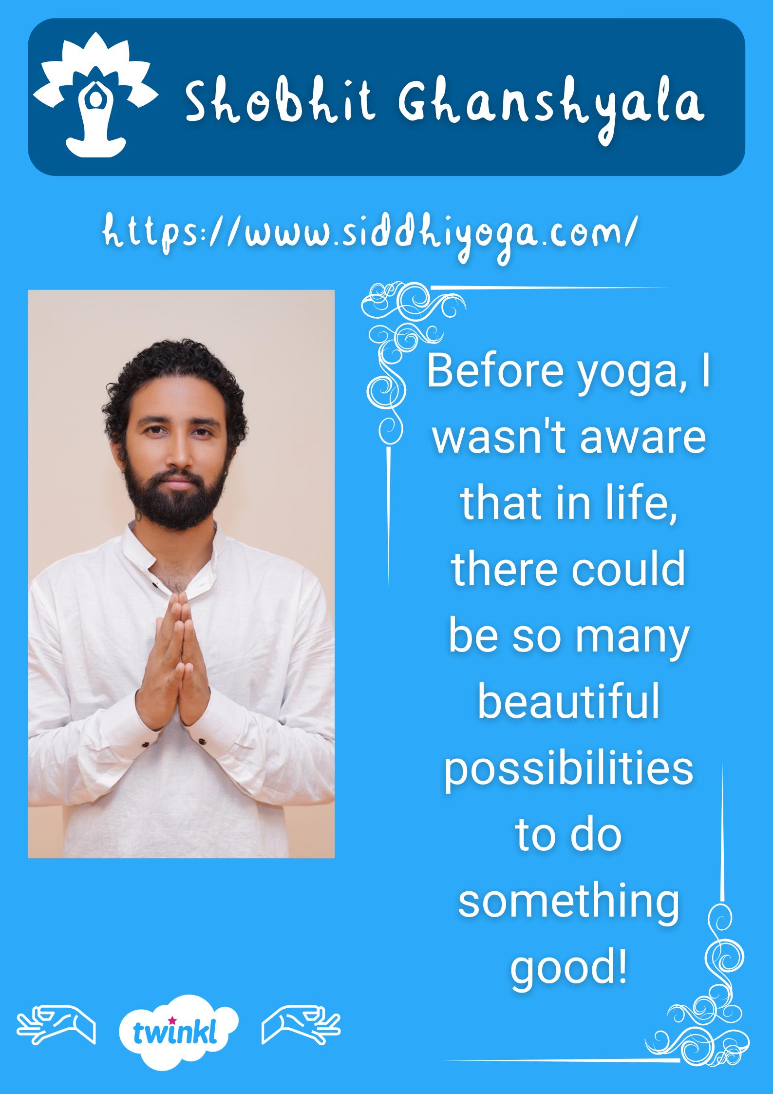 Shobhit siddhi yoga institute