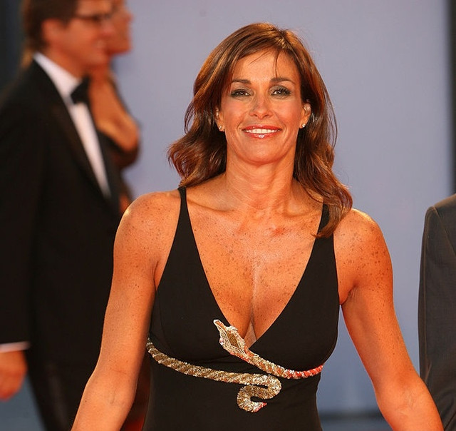 Cristina Parodi during The 63rd International Venice Film Festival The Black Dahlia Premiere Arrival