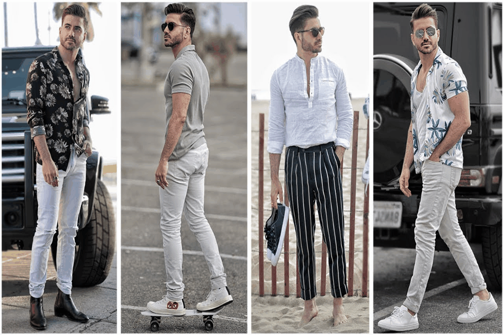 outfits for men Evo