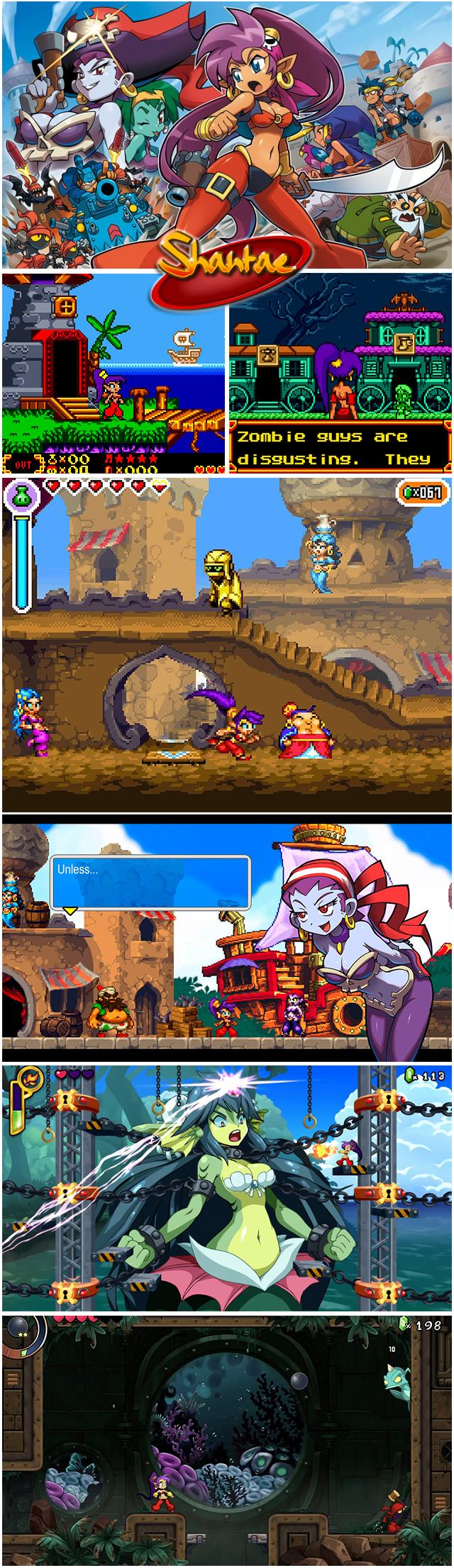 Shantae réédition Limited Machin Shantaecompil