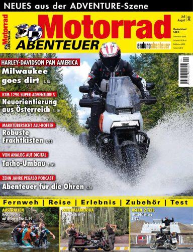 Cover: Motorrad Abenteuer Magazin Juli-August No 04 2021