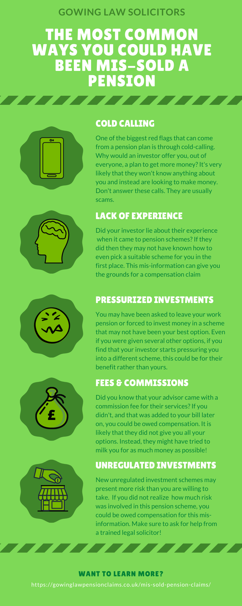 mis-sold pension infographic
