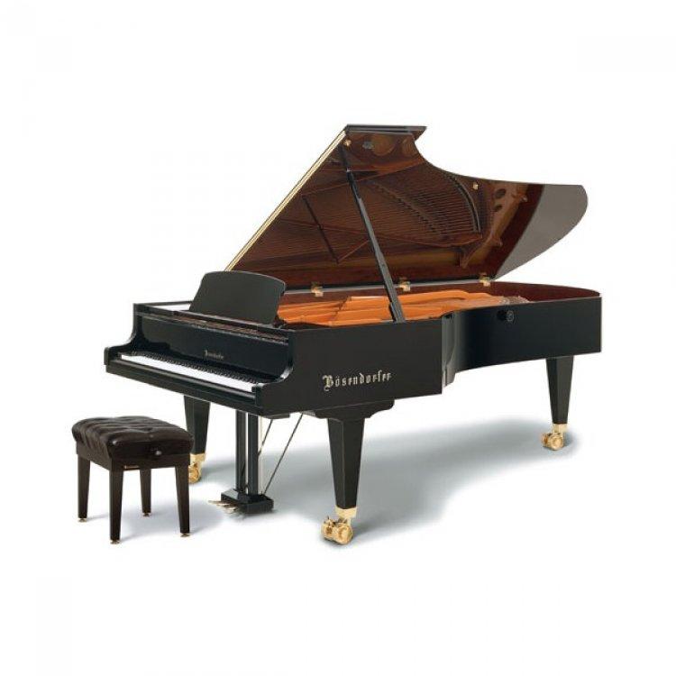 piano de tres cuartos de cola