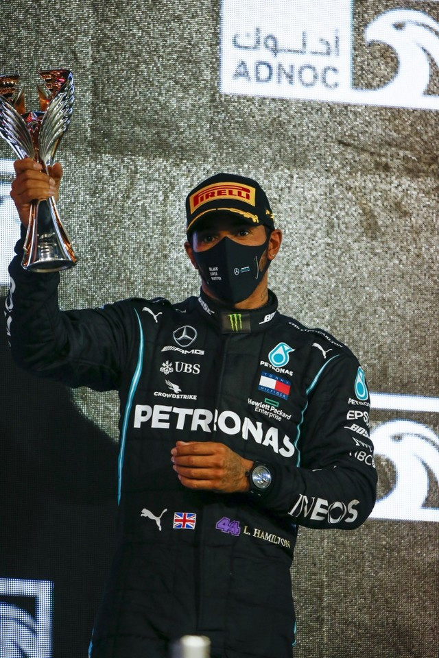 F1 GP d'Abu Dhabi 2020 : Victoire Max Verstappen pour la dernière manche de la saison  M255688