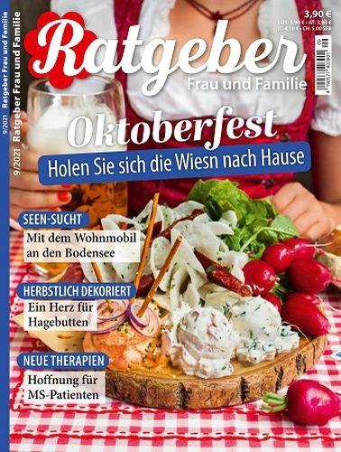 Cover: Ratgeber Frau und Familie Magazin No 09 September 2021