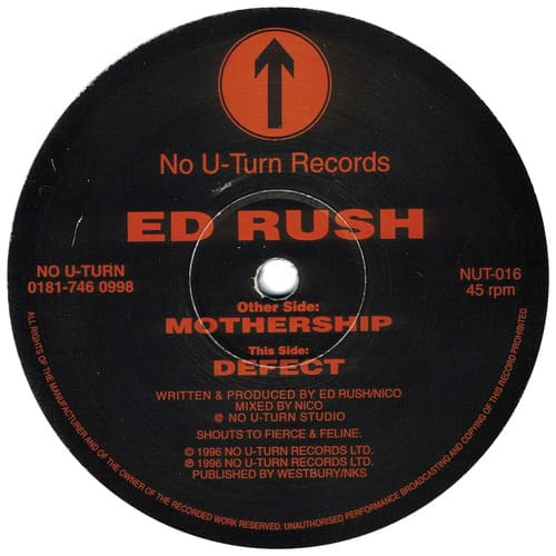 Ed Rush - Mothership