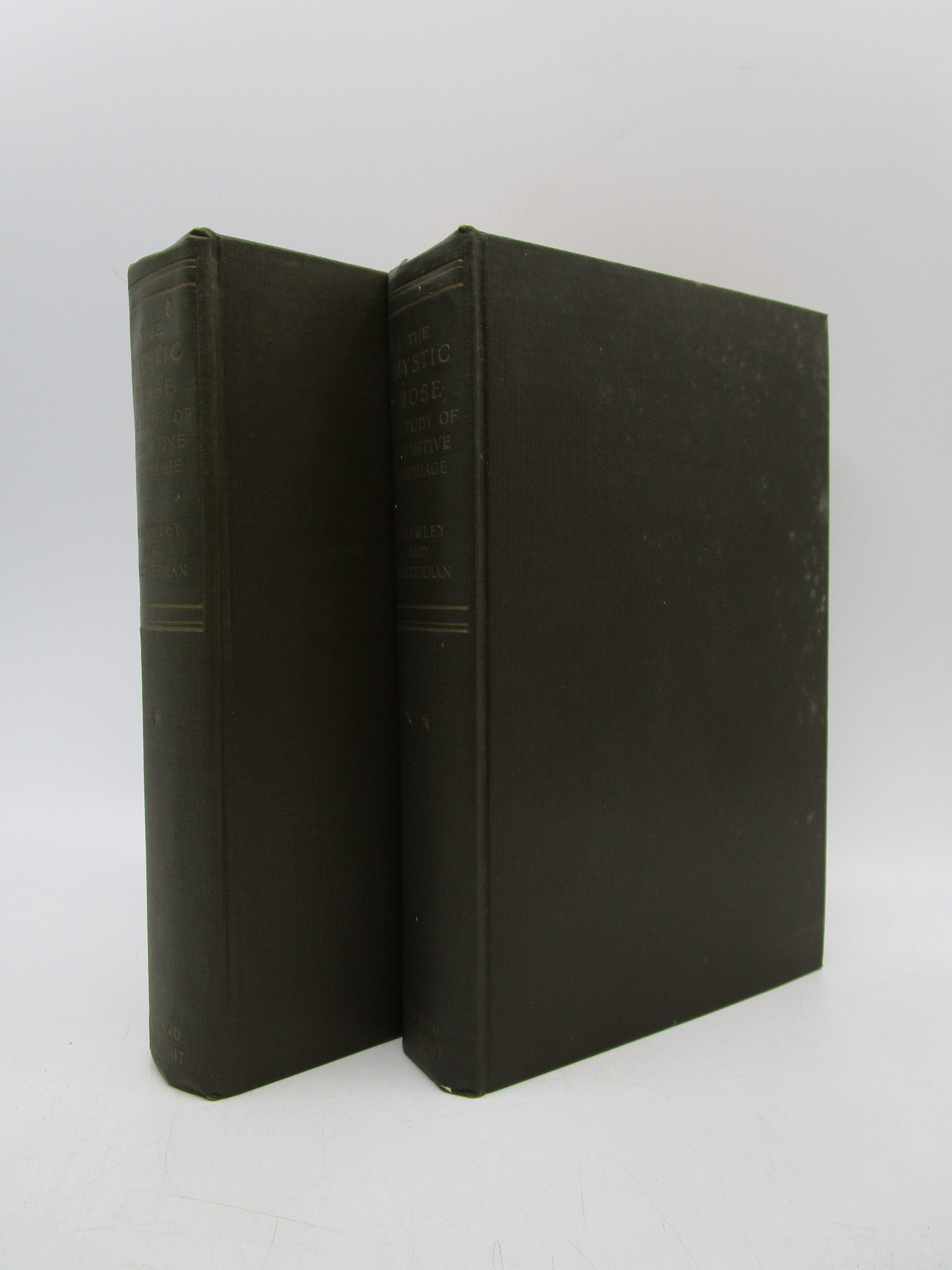 Image for The Mystic Rose: A Study of Primitive Marriage and of Primitive Thought in its Bearing on Marrriage in 2 volumes
