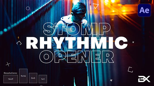Rhythmic Opener 28782290 - Project for After Effects (Videohive)