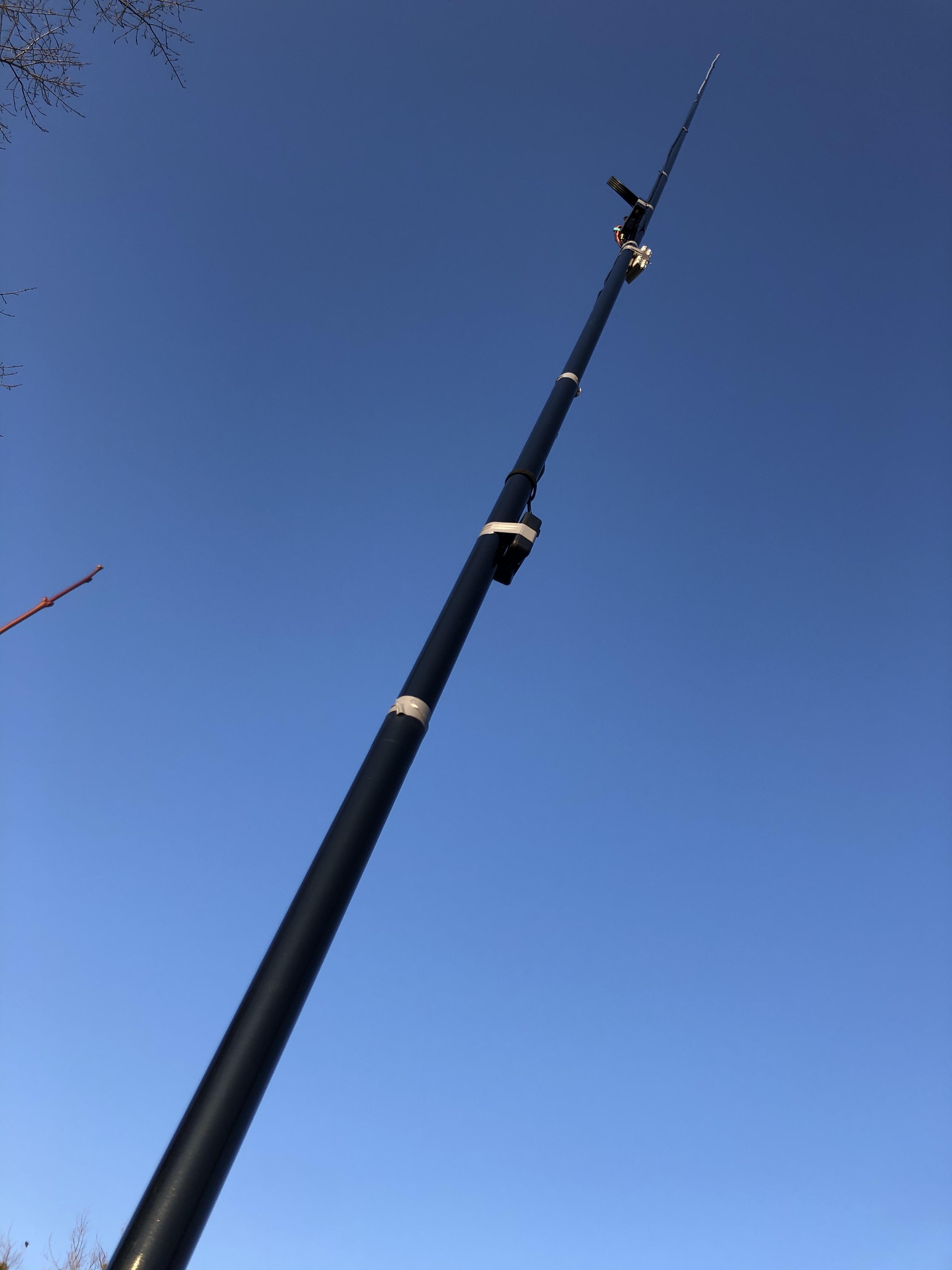 Mein aktuelles Projekt: Antenne in 150m Höhe (am Siemens