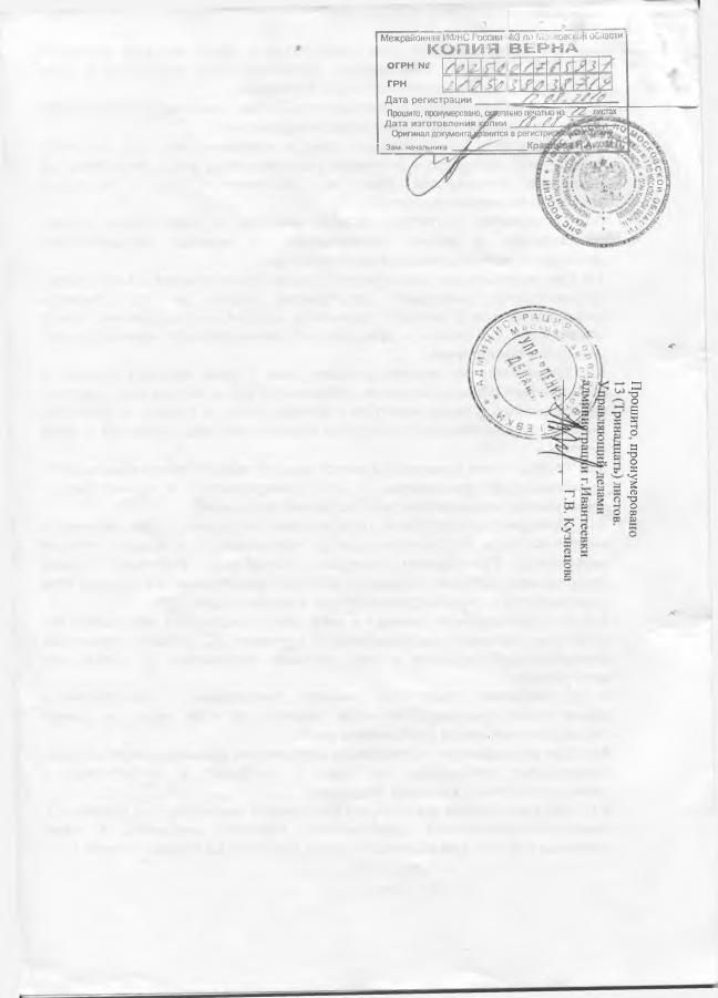 Устав страница 13