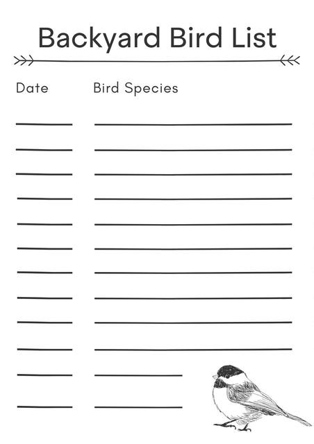 Backyard-Bird-List