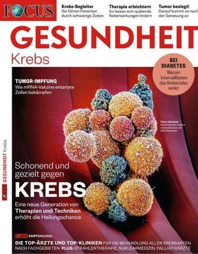 Cover: Focus Gesundheit Magazin September 2021