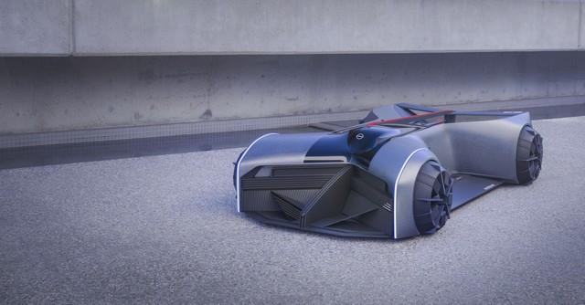 Nissan « GT-R(X) 2050 » : Le Projet D'un Stagiaire Devient Réalité Nis-GTR-2050-05-source