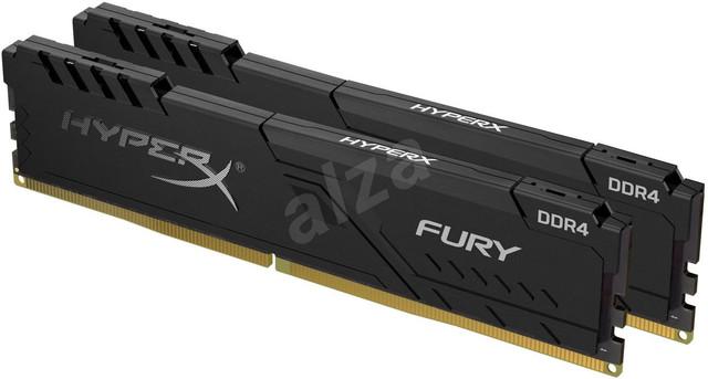 P: HyperX 32 GB KIT DDR4 3200 MHz CL16 FURY Black