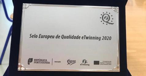 CAMPO MAIOR: CEAN RECEBE SELO EUROPEU DE QUALIDADE EM ETWINNING
