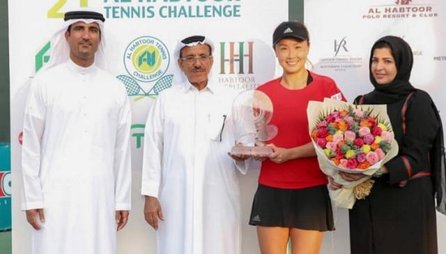 Дубай. Пэн Шуай стала чемпионкой турнира ITF в ОАЭ