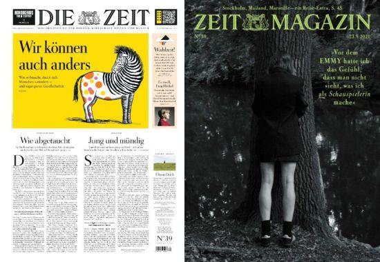 Die Zeit mit die Zeit Magazin No 39 vom 23  September 2021