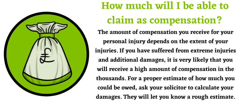 compensation for personal injury claims