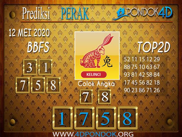 Prediksi Togel PERAK PONDOK4D 12 MEI 2020