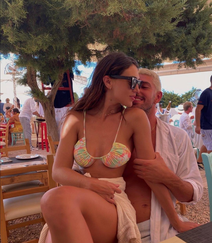 Cecilia Rodriguez e Ignazio Moser a Formentera