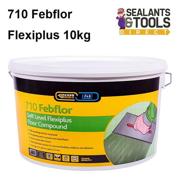 Everbuild 710 Self Level Plexiplus 10kg SLPLUSTUB10
