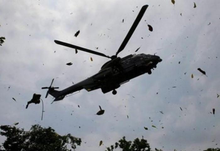 Devetero poginulih u padu turskog vojnog helikoptera