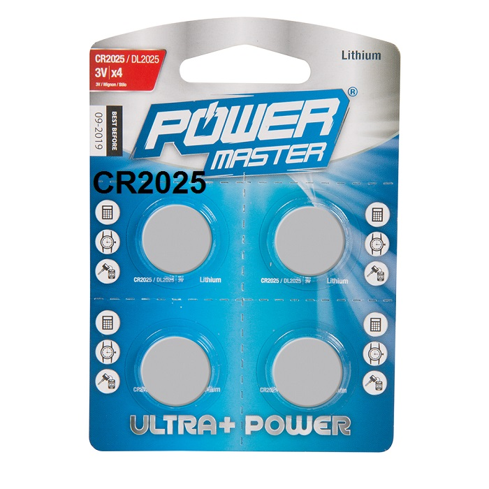 Power-Master-CR2025-Button-Cell-Pack-of-4-Batteries-458775