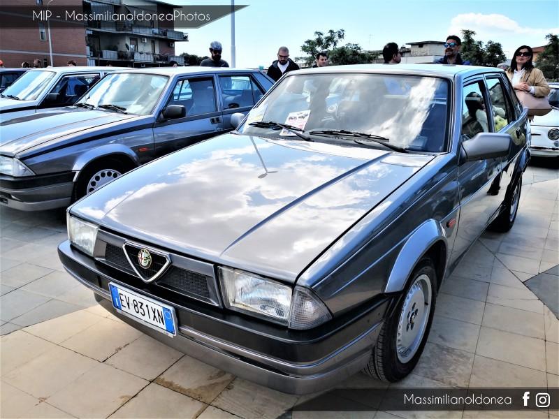 2019 - Maggio - 7° Festa dei Motori, Piazza Vicerè, Catania Alfa-Romeo-75-Twin-Spark-2-0-148cv-EV831-XN-103-302-27-3-2019