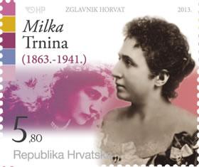 2013. year ZNAMENITI-HRVATI-MILKA-TRNINA
