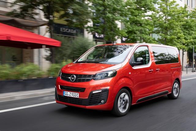 De l'électricité dans l'air : l'Opel Zafira-e Life tout électrique en vente à partir de 51 500 euros bonus environnemental déduit Opel-Zafira-e-512819