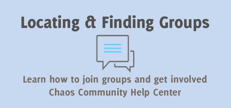 Locating and Finding Groups