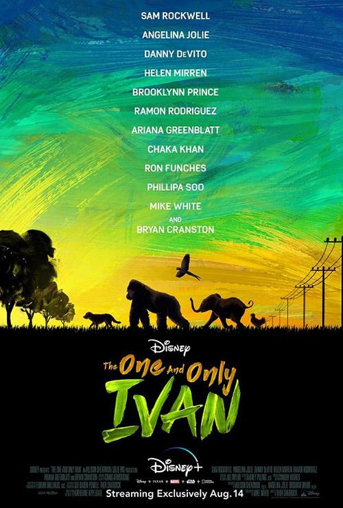 The One and Only Ivan | 2020 | m720p - m1080p | WEB-DL | Türkçe Altyazılı | Tek Link