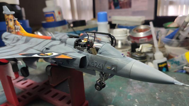 """MT: Jas-39C Gripen """"Wild Tiger"""" NTM 2017 Kitty Hawk 1/48 IMG-20200209-193818"""
