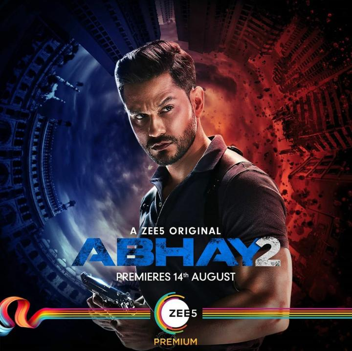 Abhay (2020) S02 Hindi Complete Full ZEE5 Web Series 720p HDRip 1.8GB   850MB Download