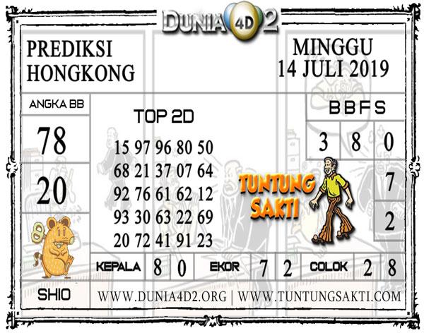 """Prediksi Togel """"HONGKONG"""" DUNIA4D2 14 JULI 2019"""