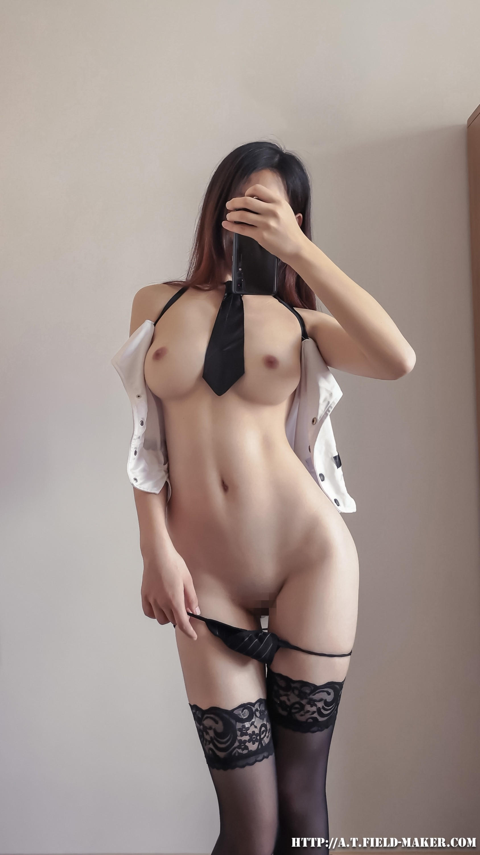 Tsubaki Album Selfie vol.002 Mini Hip Skirt Sexy Teacher 025