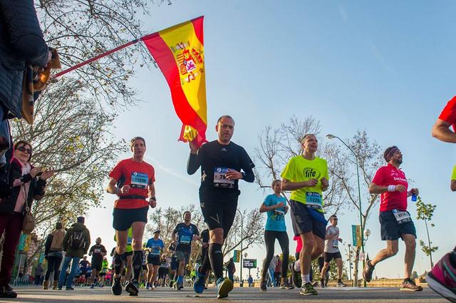 bandera-espa-a-maraton-sevilla-travelmarathon-es