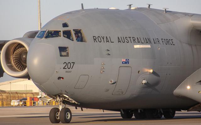 RAAF C17 A41 207 March 2017 img2 v2