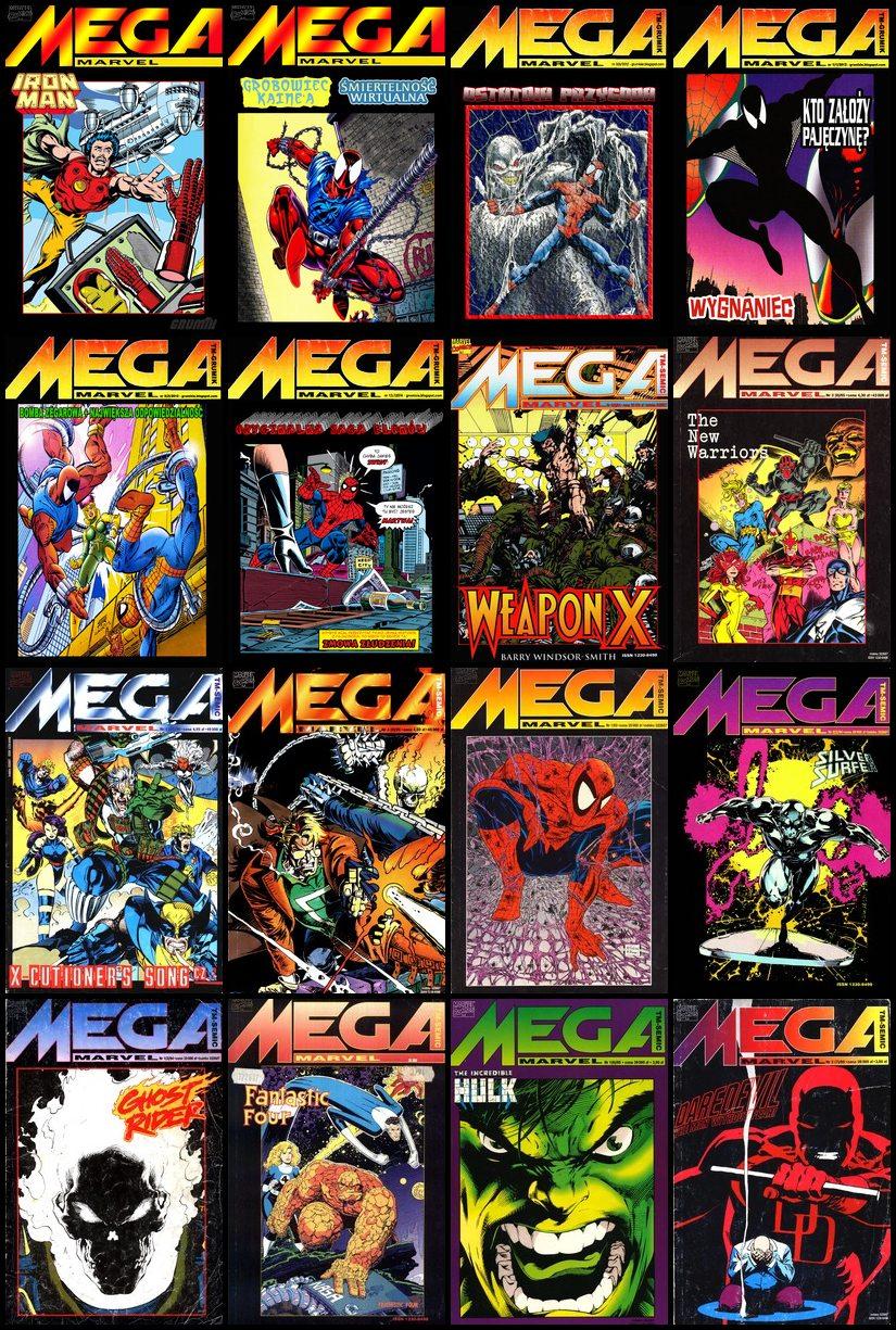 Mega Marvel - Różne Komiksy