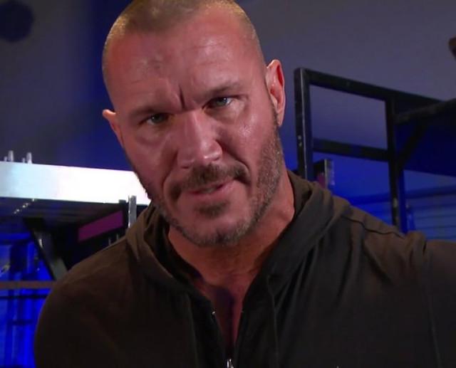 Orton amenaza a Edge no Wrestlemania RAW 1 Febrero