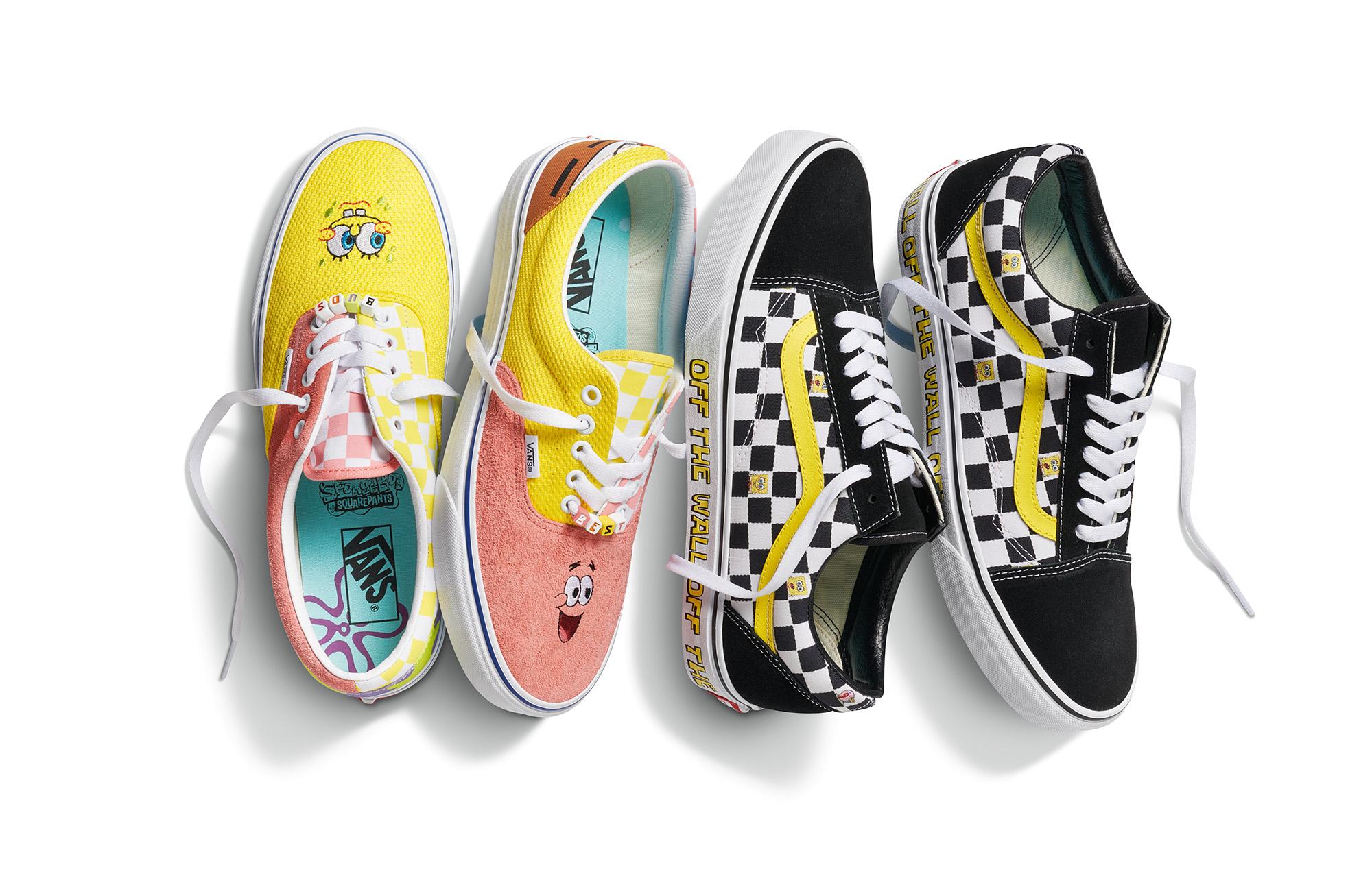 Vans x SpongeBob SquarePants: in arrivo due capsule collection