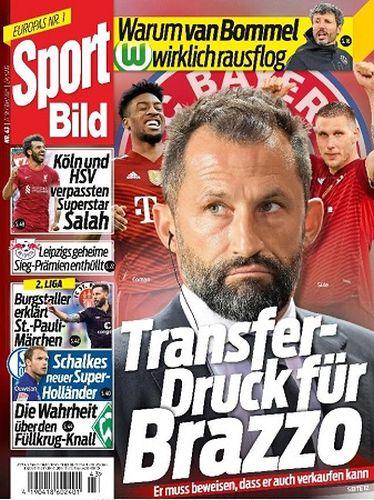 Sport Bild Magazin No 43 vom 27  Oktober 2021