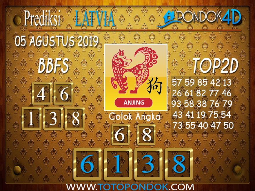 Prediksi Togel LATVIA POOLS PONDOK4D 05 AGUSTUS 2019