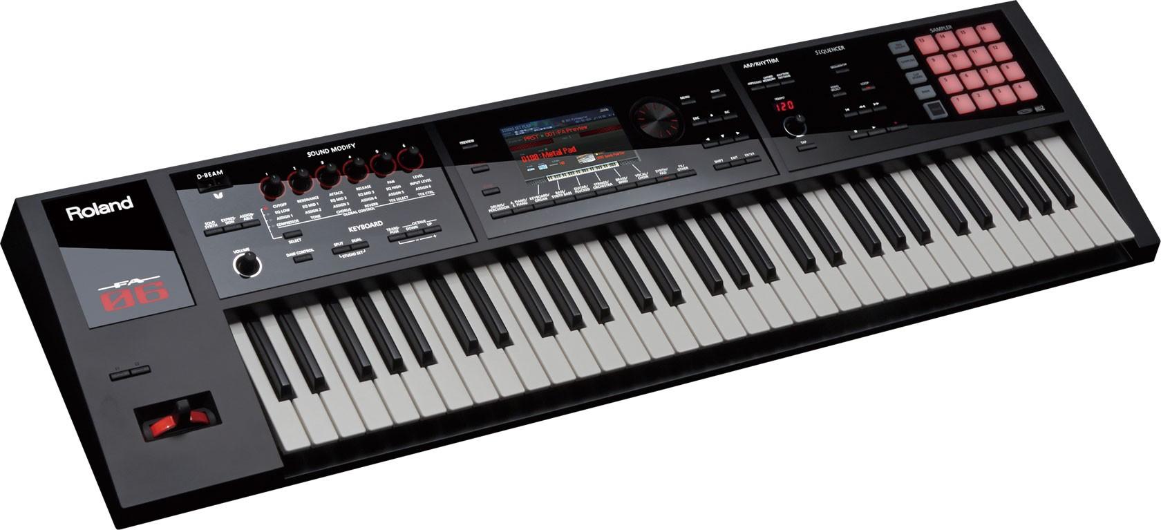 tipos de piano digital - sintetizador