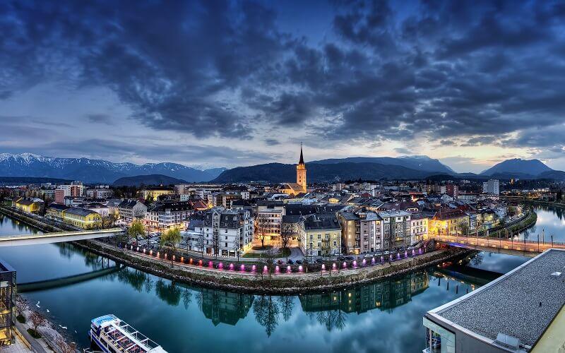 Villach city photo