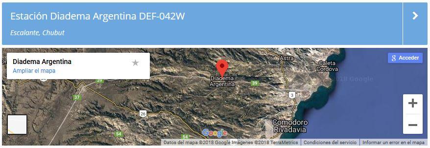 2018 11 06 lu2wa estacion diadema google - Activación Estación Diadema Argentina DEF-042W