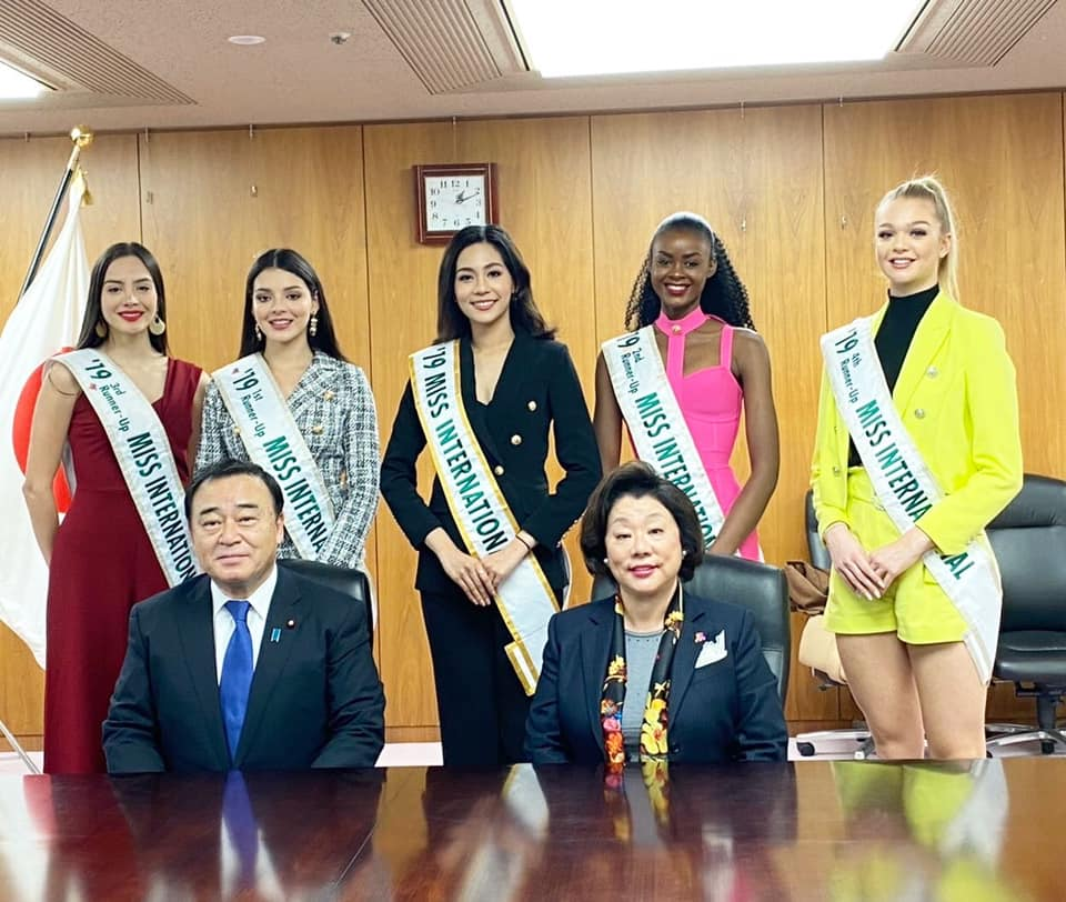 Official Thread of MISS INTERNATIONAL 2019 : Sireethorn Leearamwat of THAILAND - Page 2 3