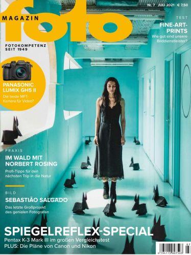 Cover: FotoMagazin Juli No 07 2021